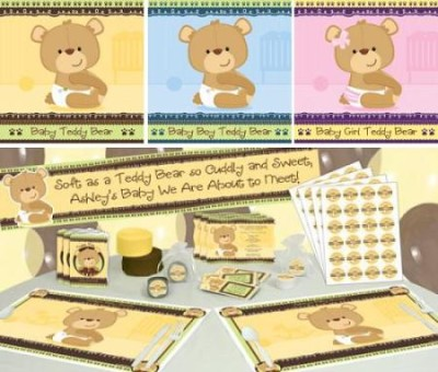 bear baby shower teddy bear baby shower