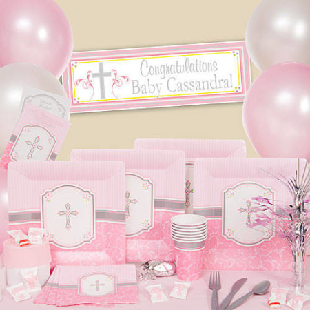 Baby girl dedication baptism christening ideas for girls for Baby dedication decoration