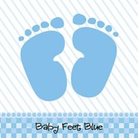 baby feet shower theme boys