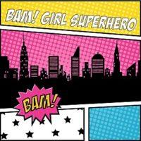 superhero girl baby shower supplies